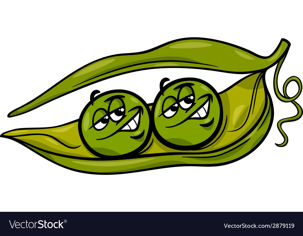 Pictures In Pod Of Peas Cartoon Two A 3K1TclFJ
