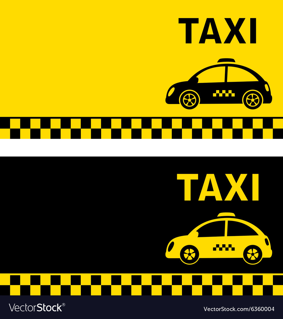Business card and retro taxi car royalty free vector image business card and retro taxi car vector image reheart Image collections