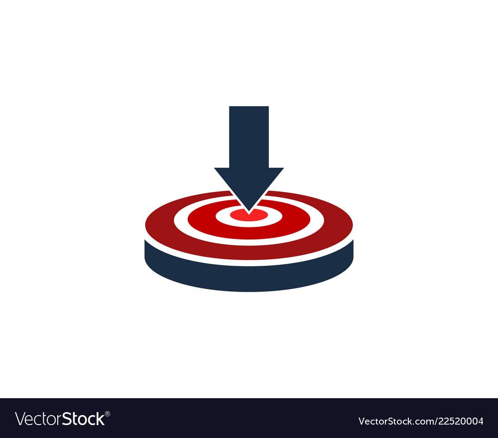 Download target logo icon design