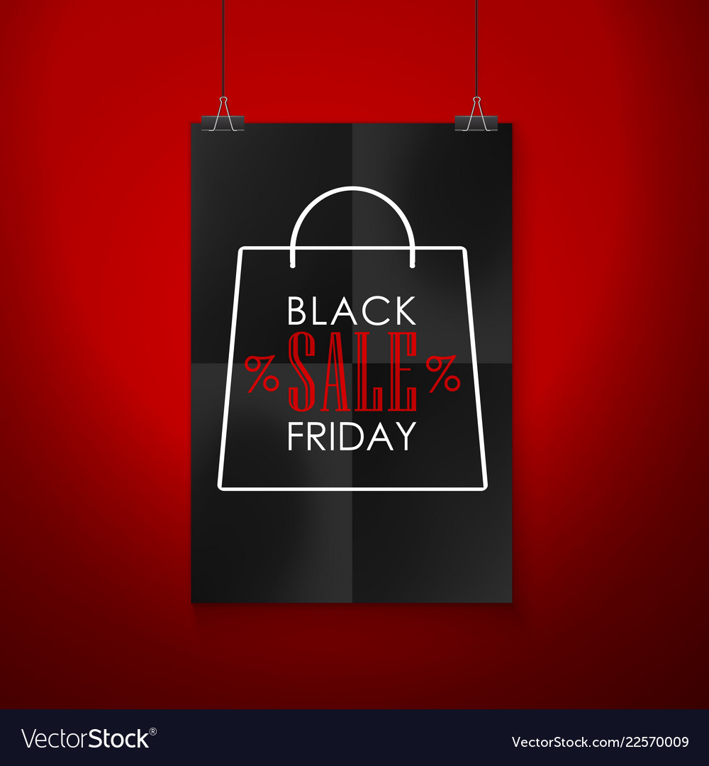 Black friday sale emblem