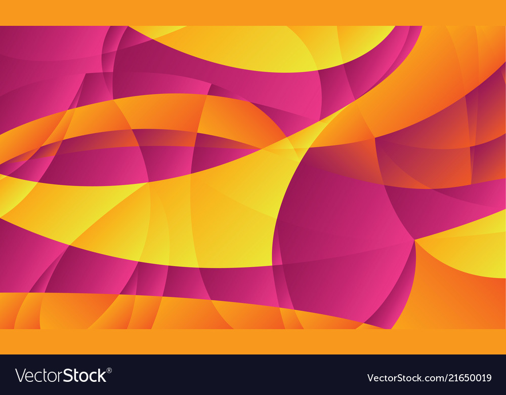 Abstract Curve Geometric Gradient Shapes