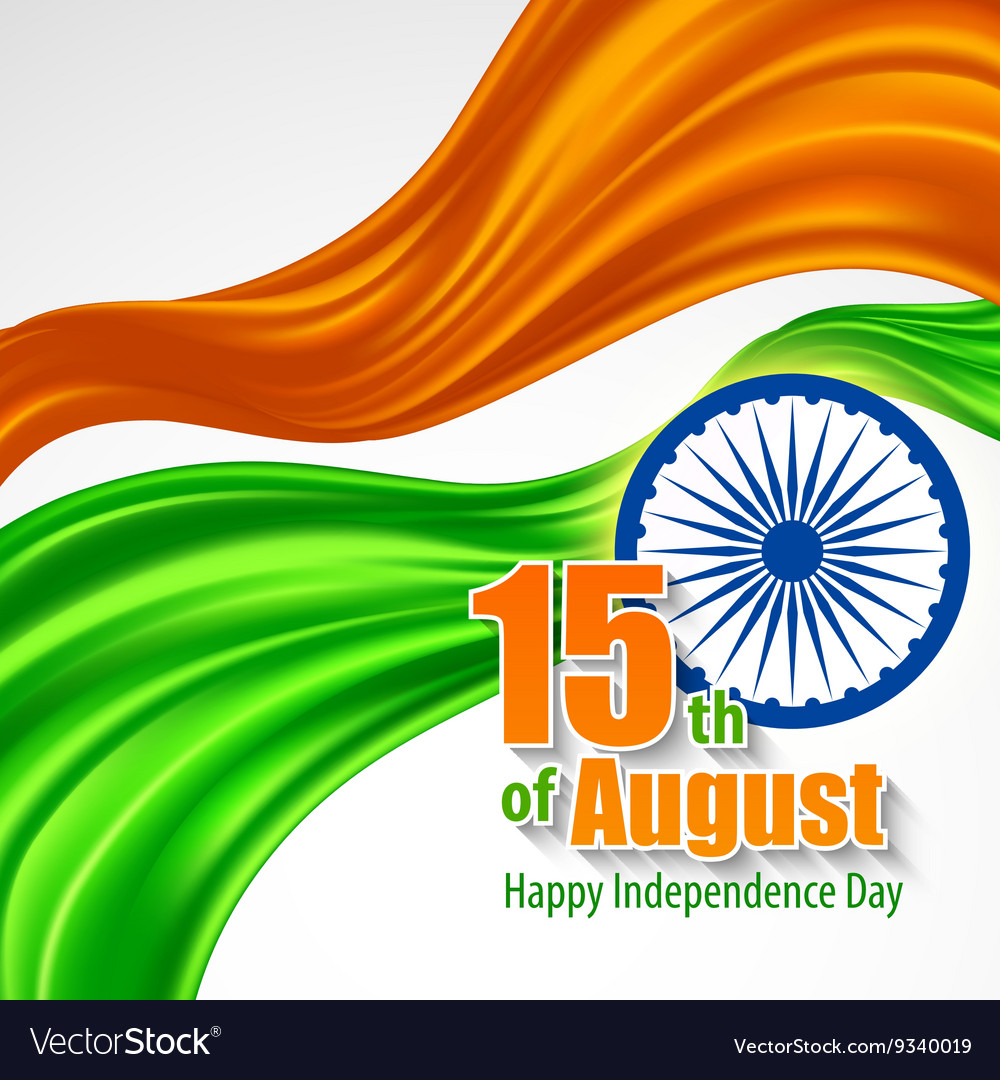 Independence Day India background Template for a