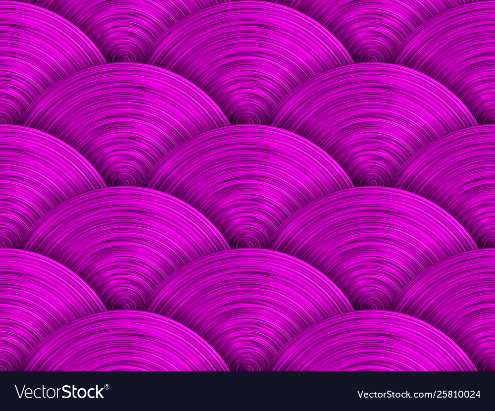 Saturated purple pink disks seamless pattern