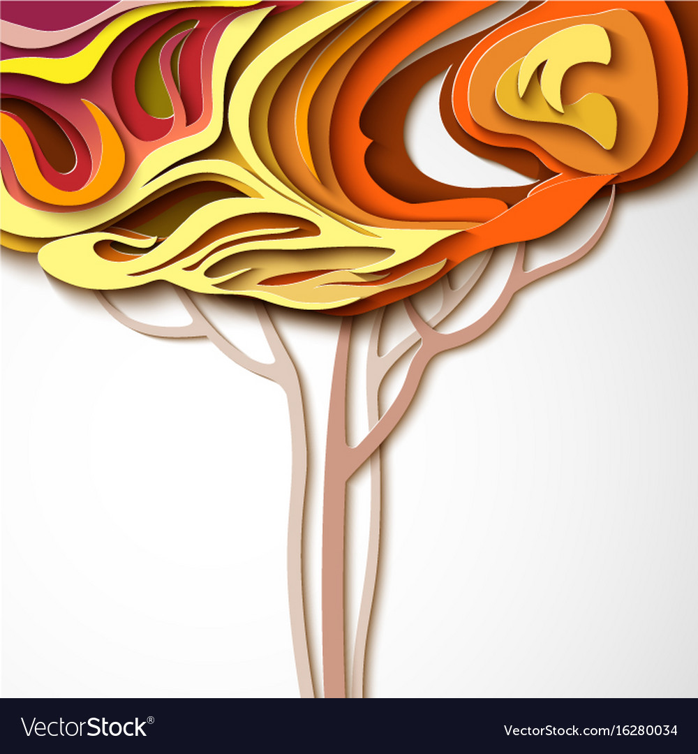 Abstract Paper Art