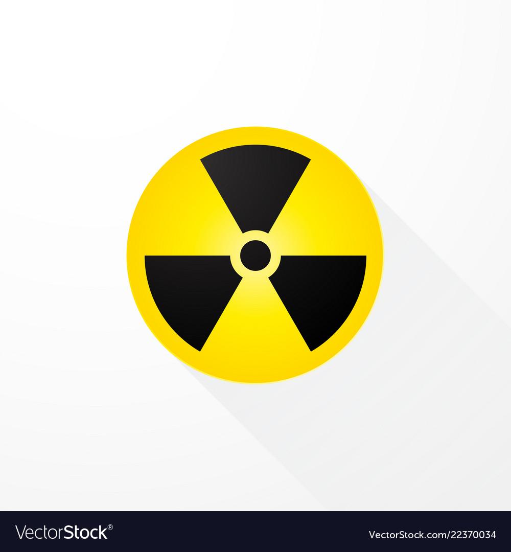 Symbol radioactivity with long shadows