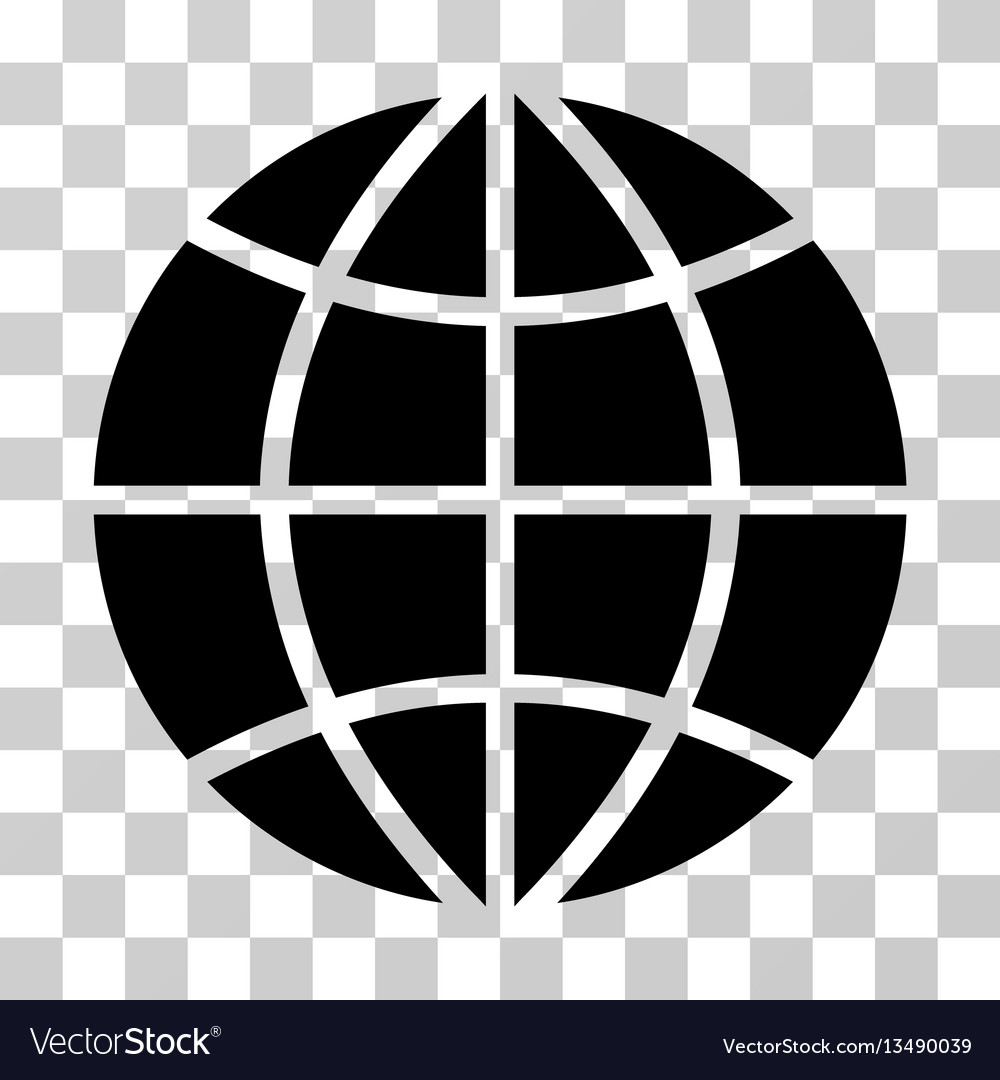 planet globe icon royalty free vector image vectorstock rh vectorstock com internet globe icon vector globe icon vector png