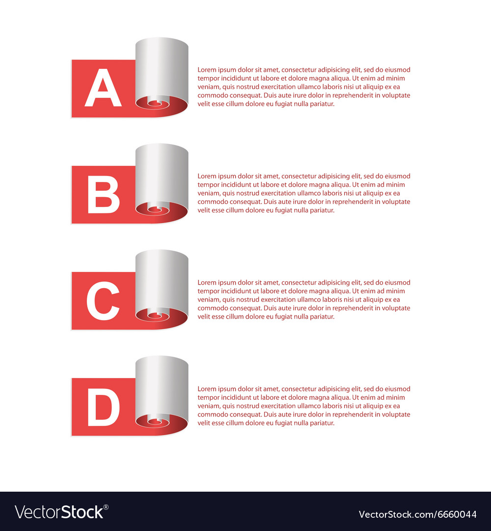 Modern infographic Design elements
