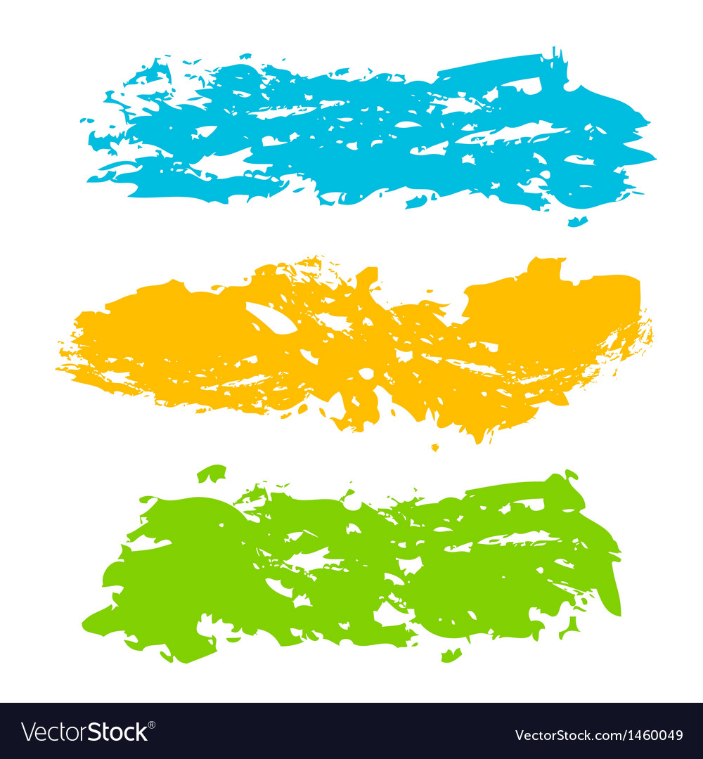 Collection of paint splash