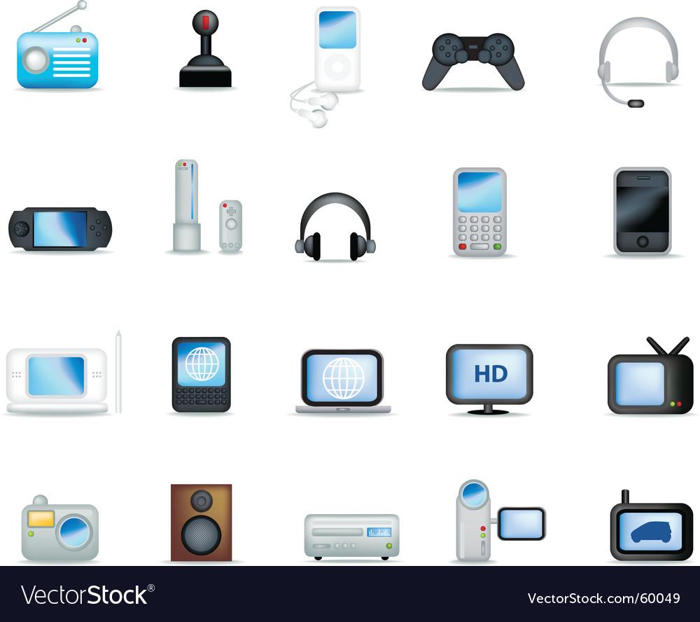 Electronics detailed