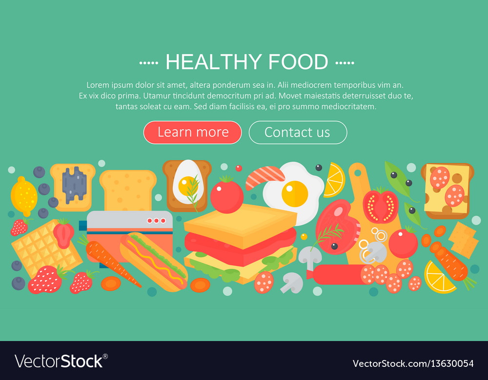Cooking collection healthy food infographics