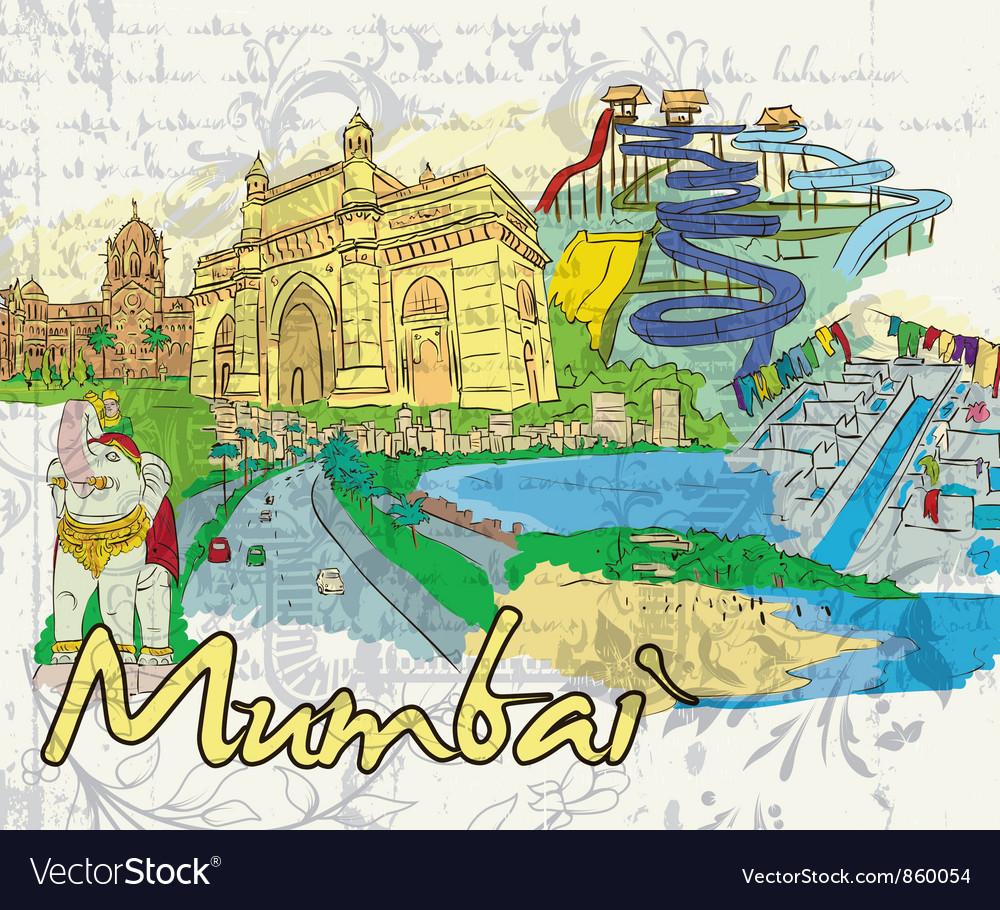 Mumbai doodles