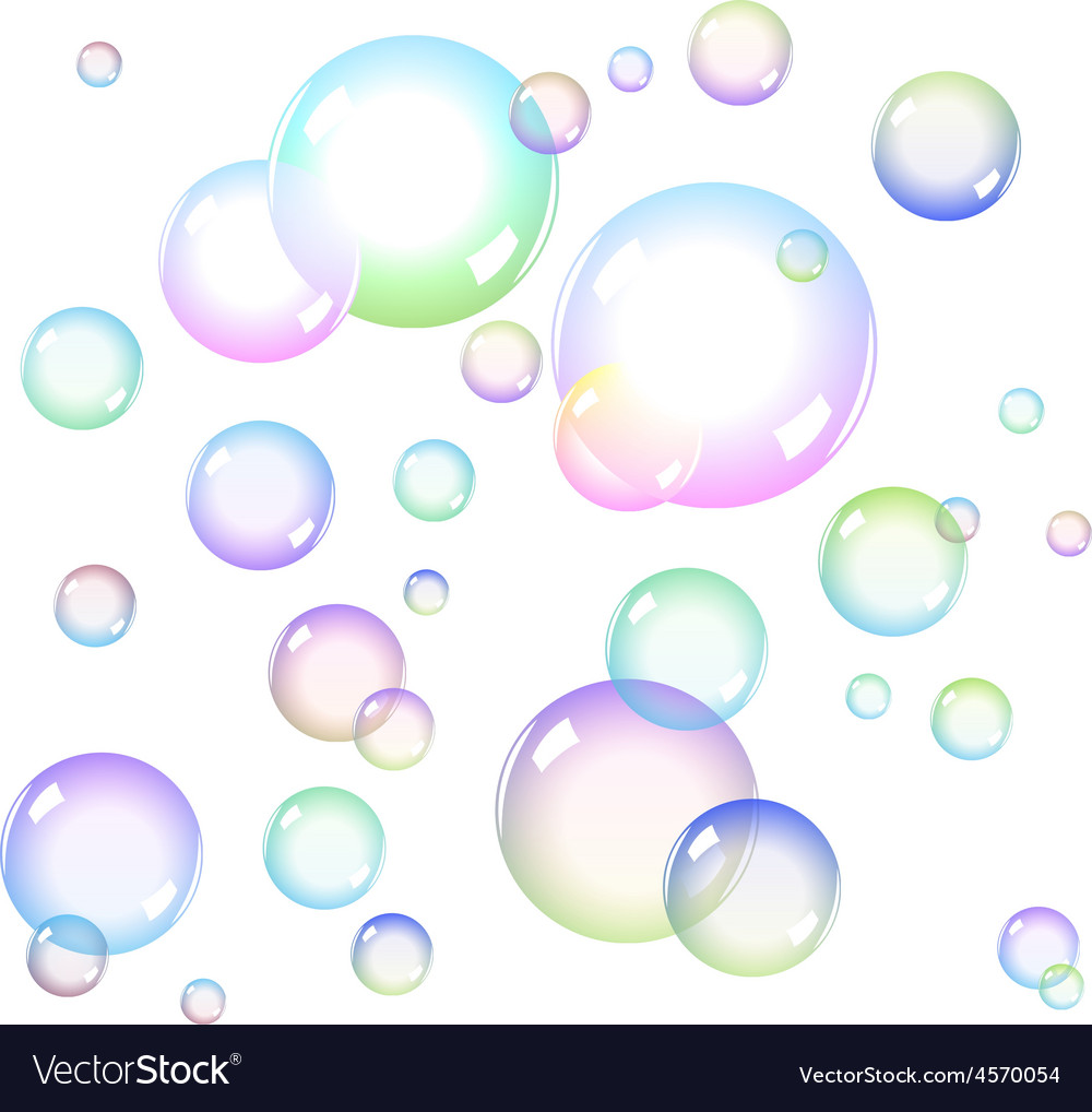 вас рисунок мыльные пузыри на стене спотов