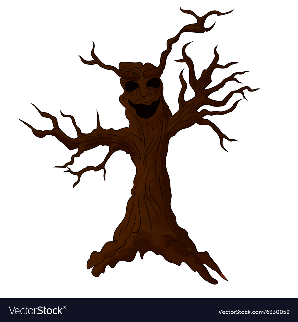 Cute Monster Tree Royalty Free...