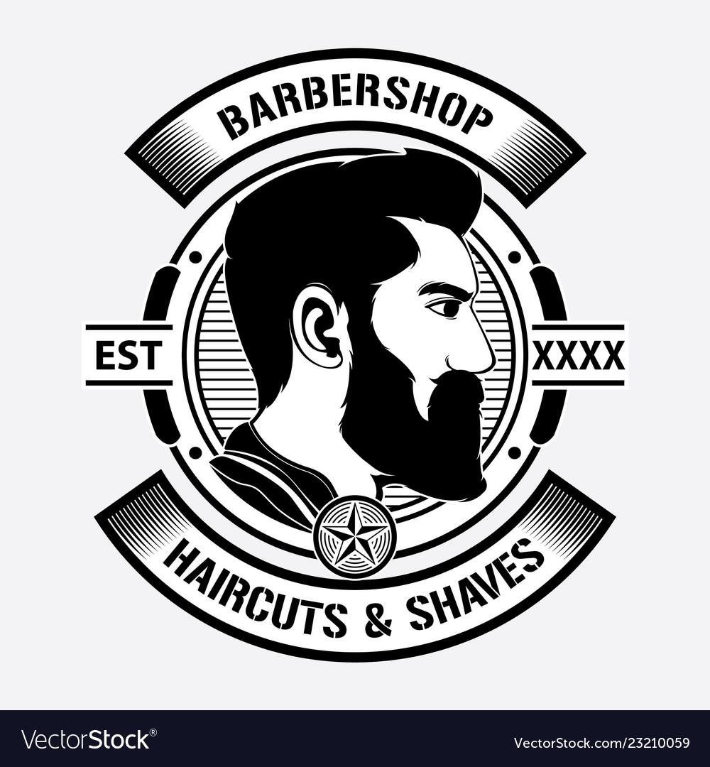 Design barber shop logo