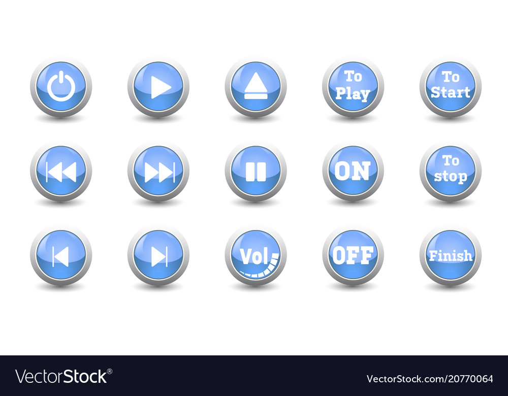 Electronic and technology conceptsimple icon blue