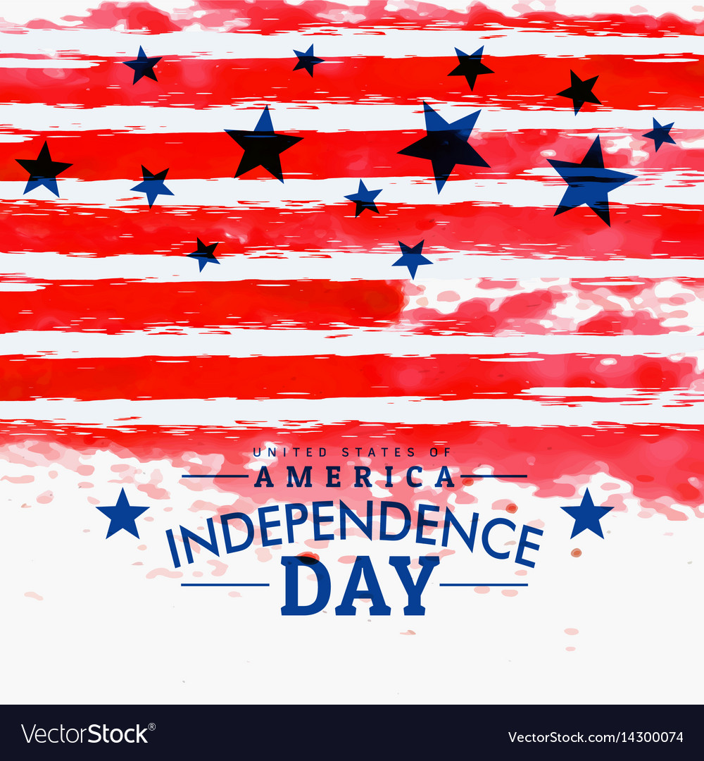 American independence day background with grunge