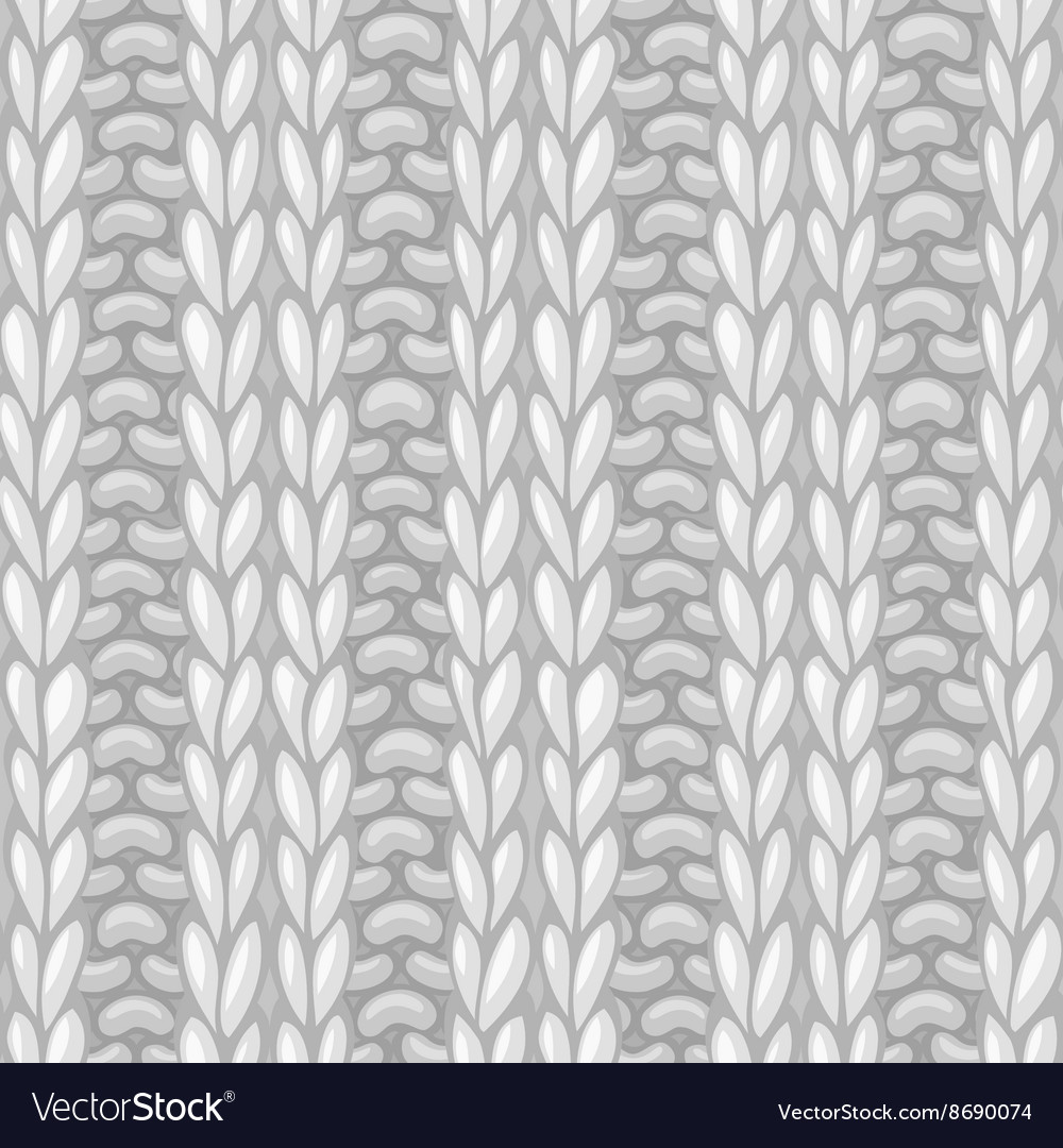Double Ribbing Stitch vector image
