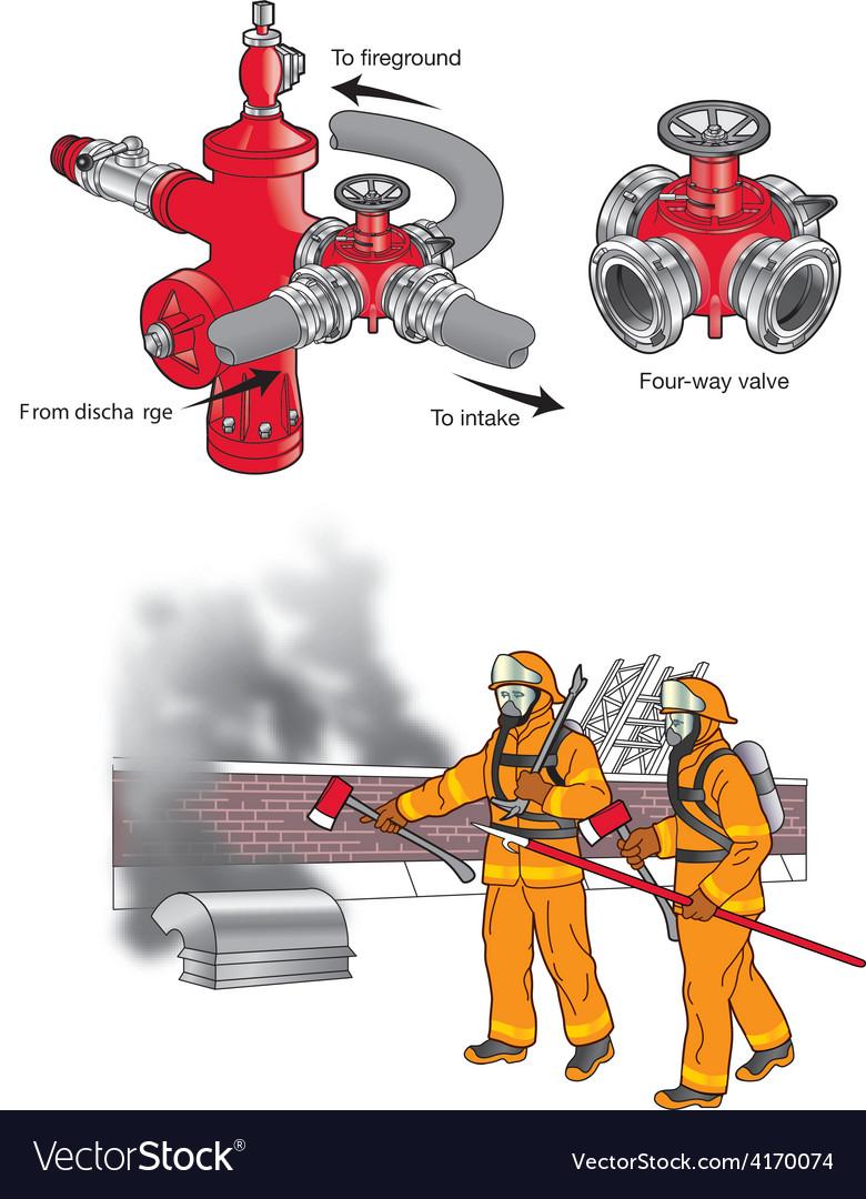 Fire stuff 07 vector image