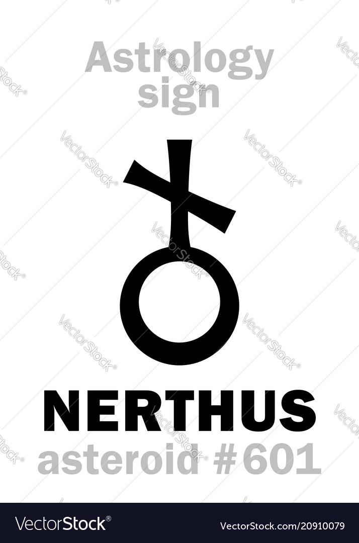 Astrology asteroid nerthus