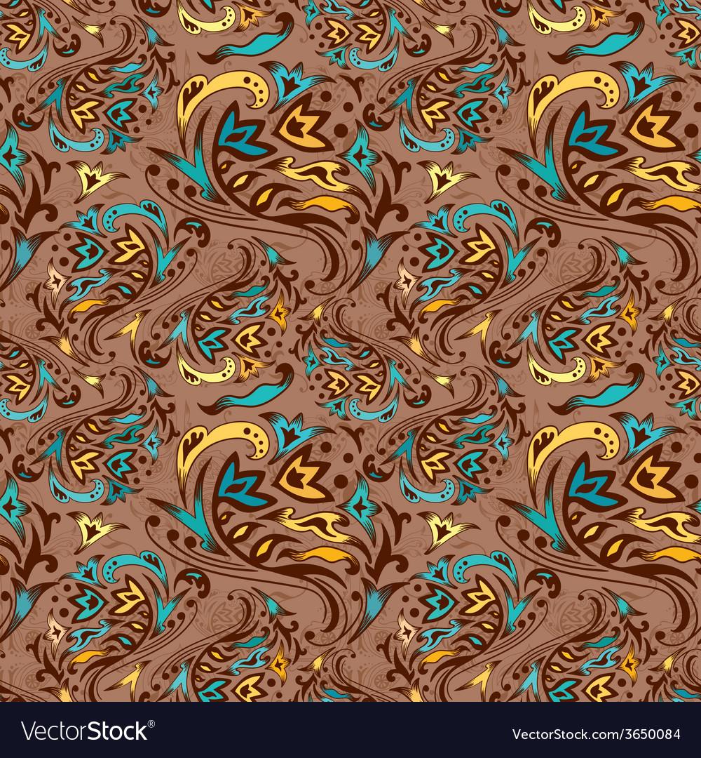 Arabic swirl pattern