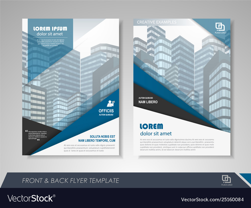 Business flyer presentation