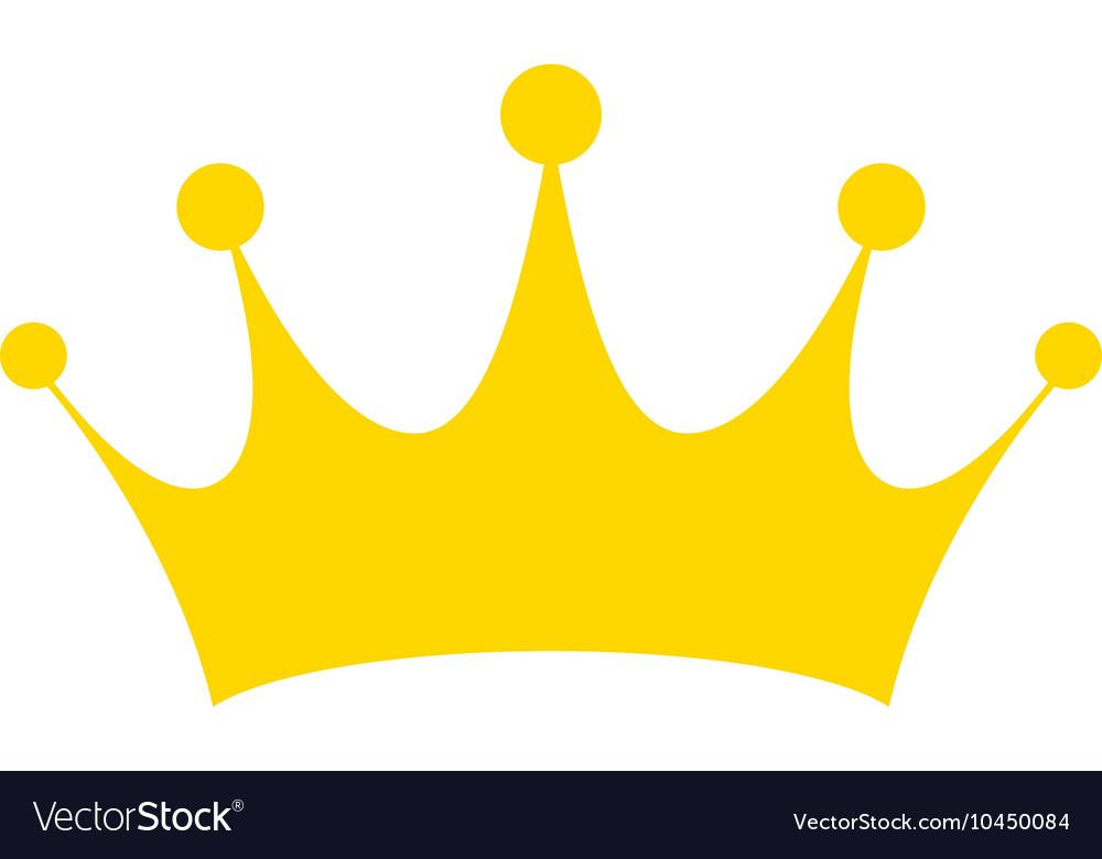 crown icon royalty free vector image vectorstock