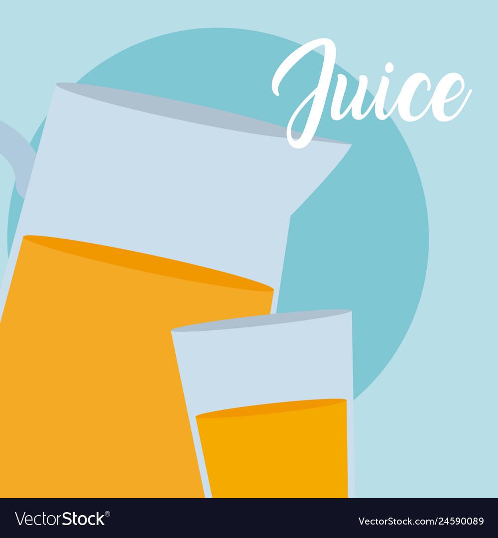 Fresh juice jar
