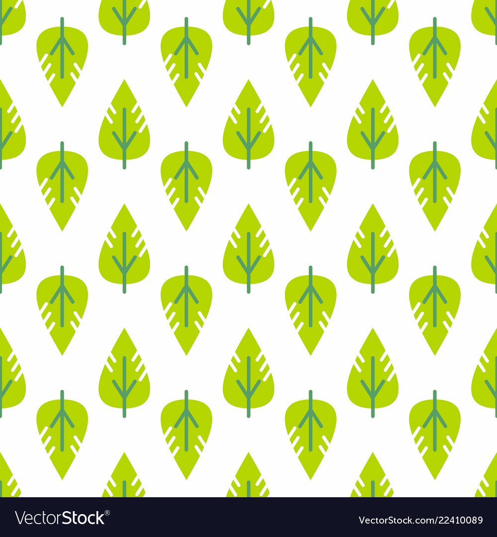 Seamless leaves pattern decorative