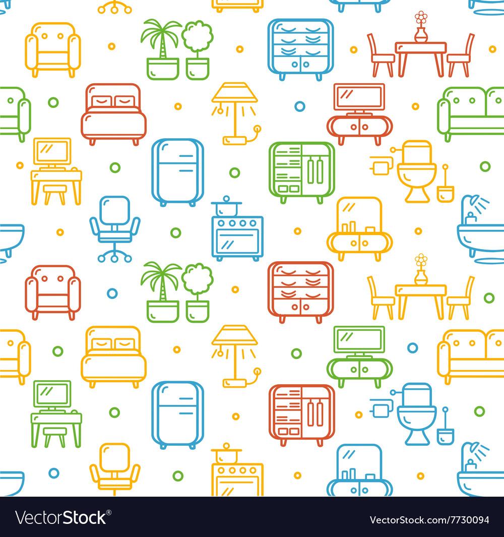 Furniture Background Pattern
