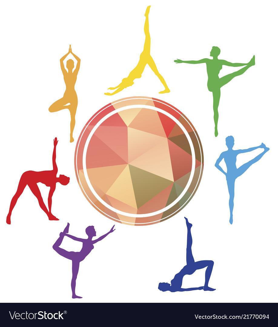 Yoga Asanas Logo