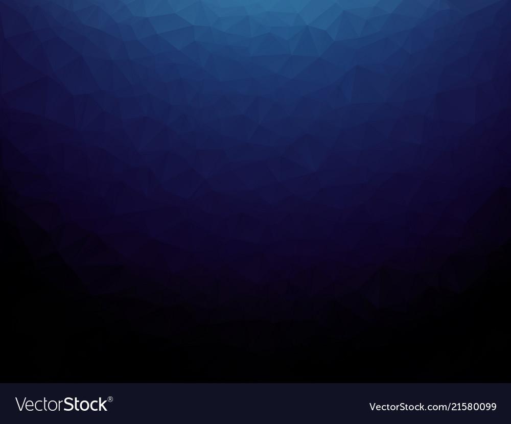Dark blue polygonal texture background
