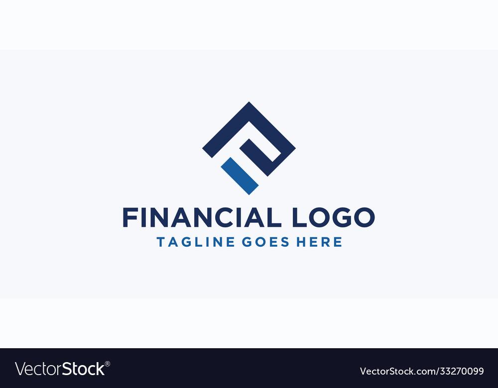 F square logo design inspiration