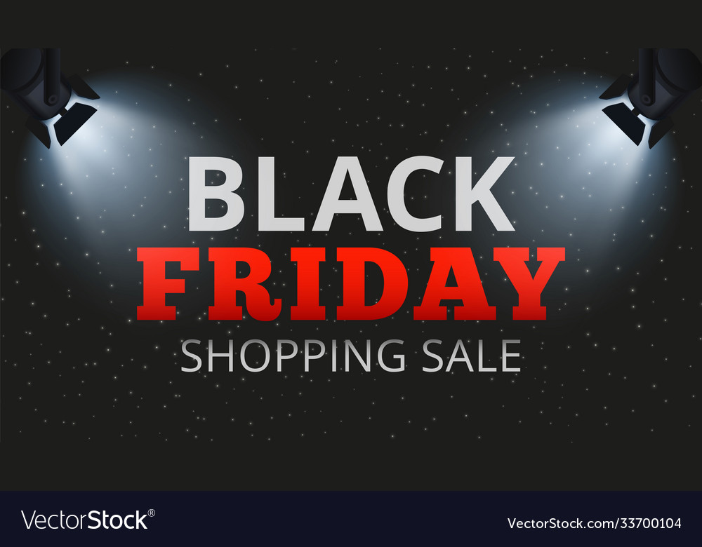 Black friday shopping sale special offers