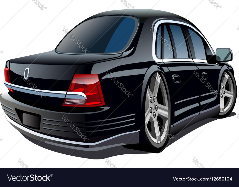 cartoon car royalty free vector image vectorstock