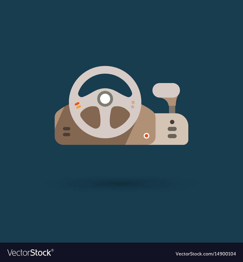 Game controller - steering wheel
