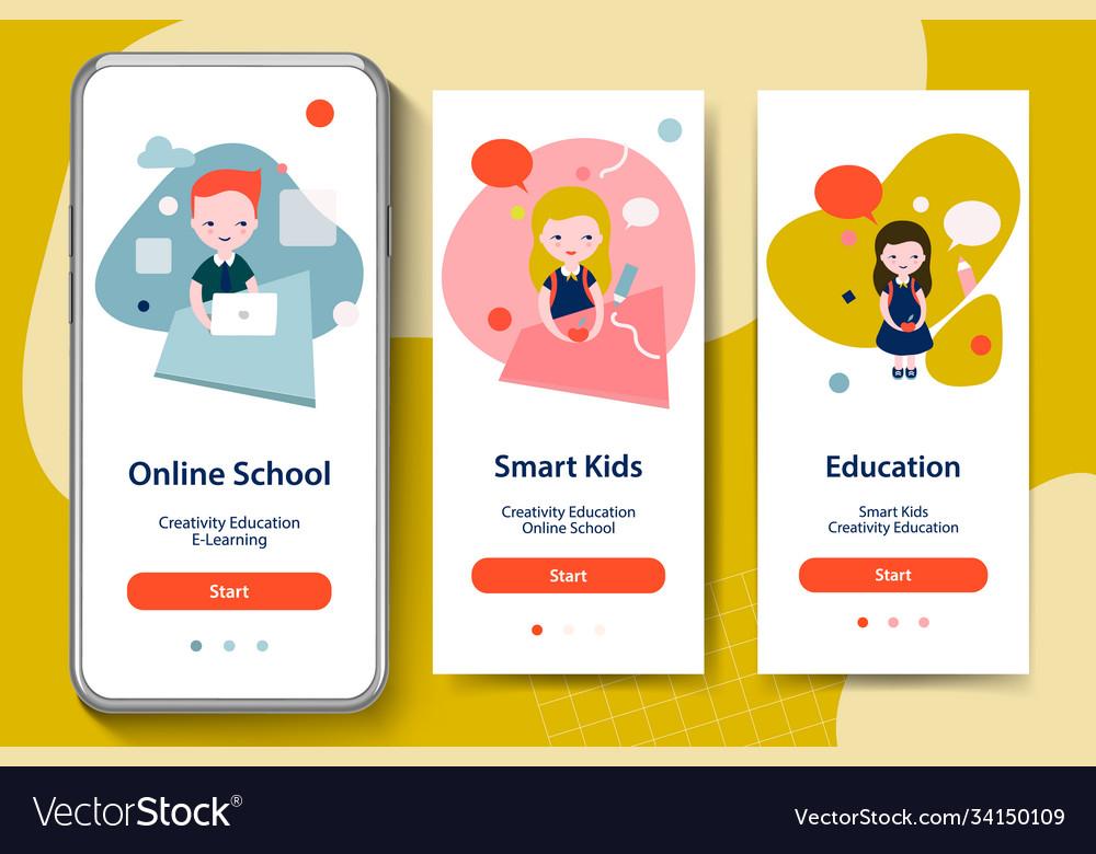 Back to school smart kids online education