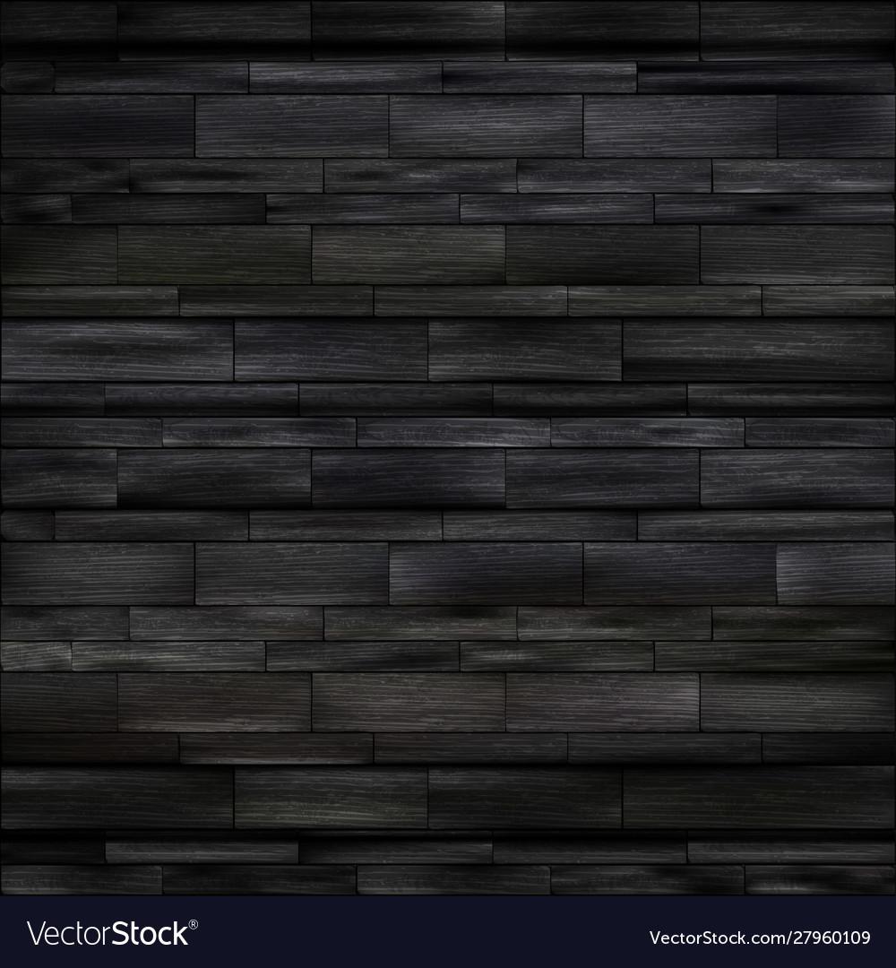 Mock up black wood background