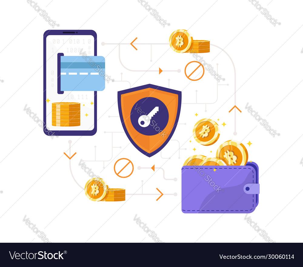 Bitcoin transaction concept