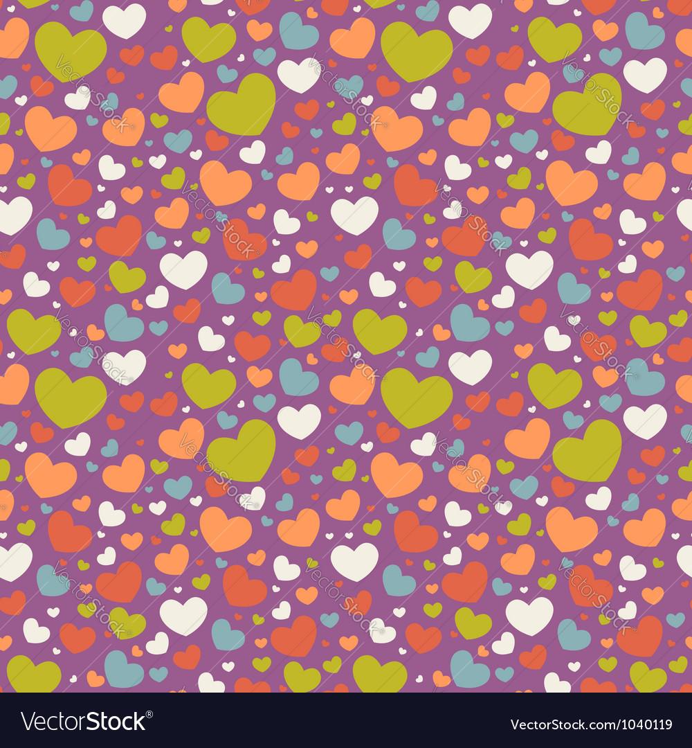 Cute Valentine love seamless pattern