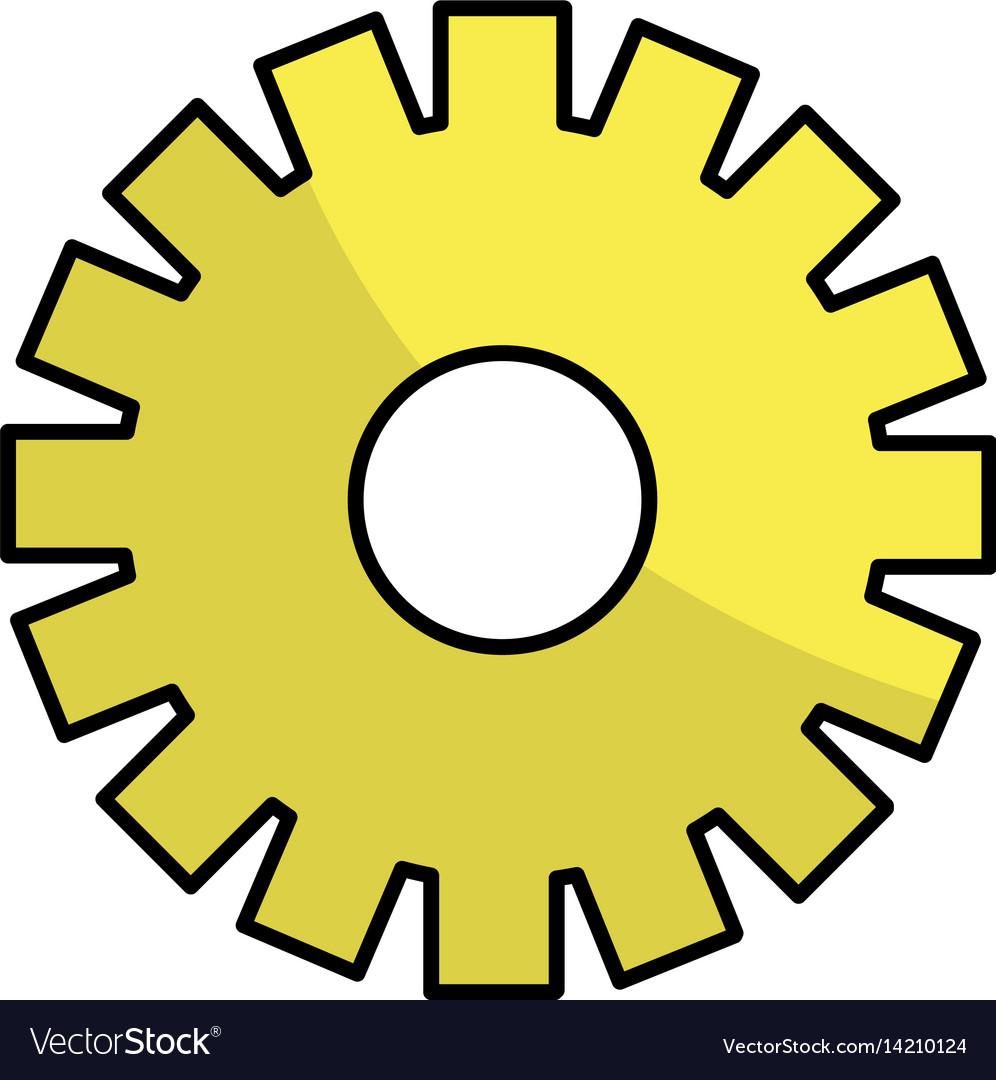 Line gear symbol process industry