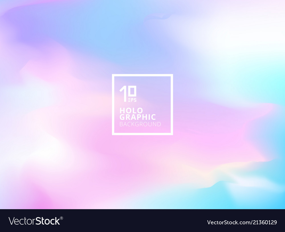 Abstract smooth iridescent background holographic