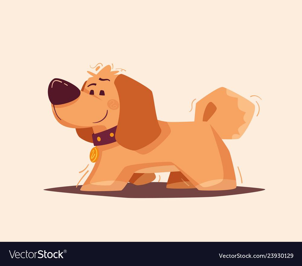 Dog character best friend cartoon