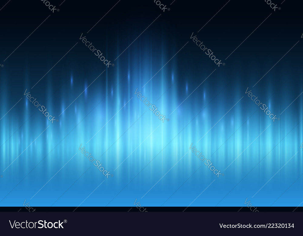 Abstract blue light ray wall background
