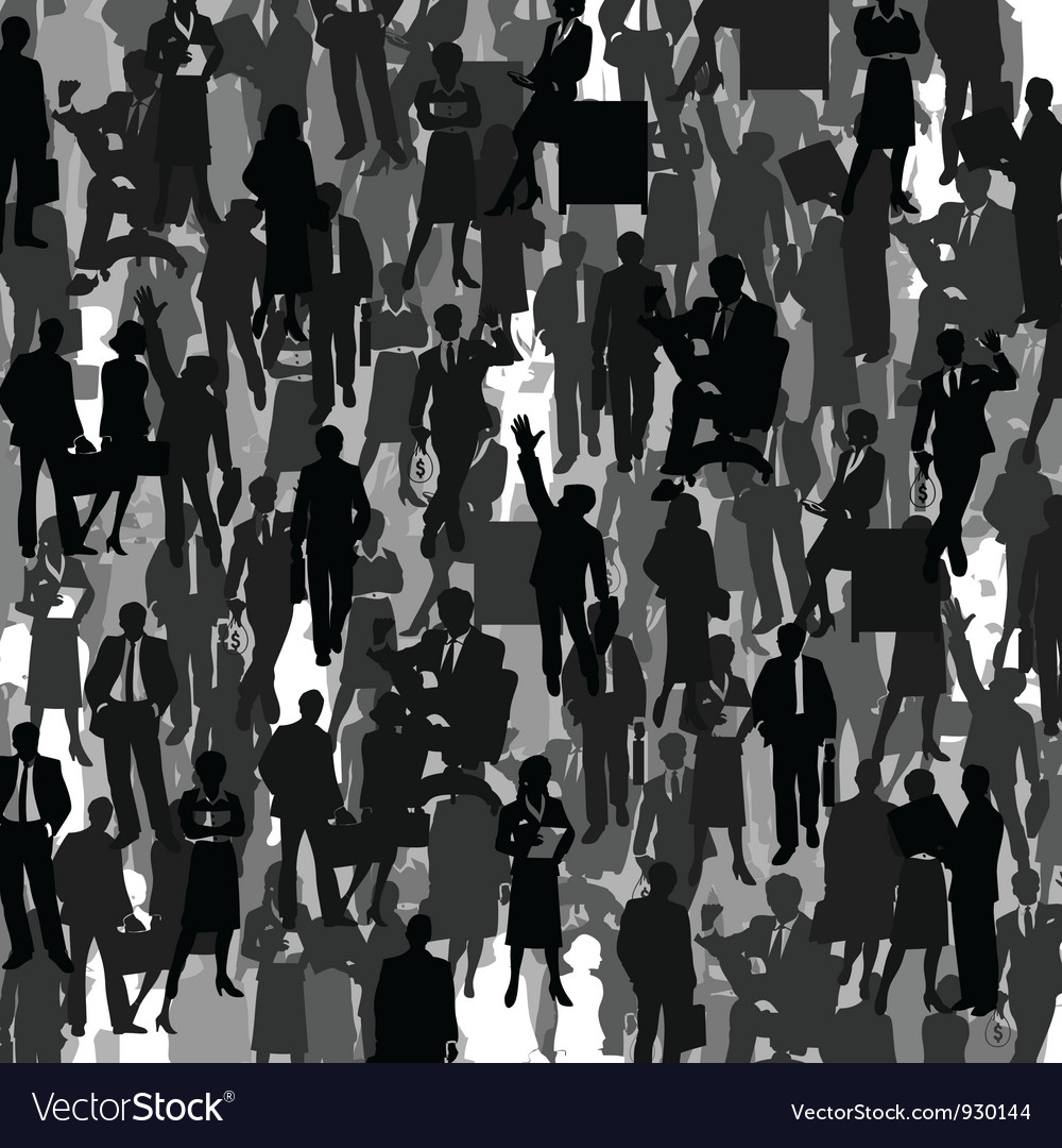 Business a background vector image
