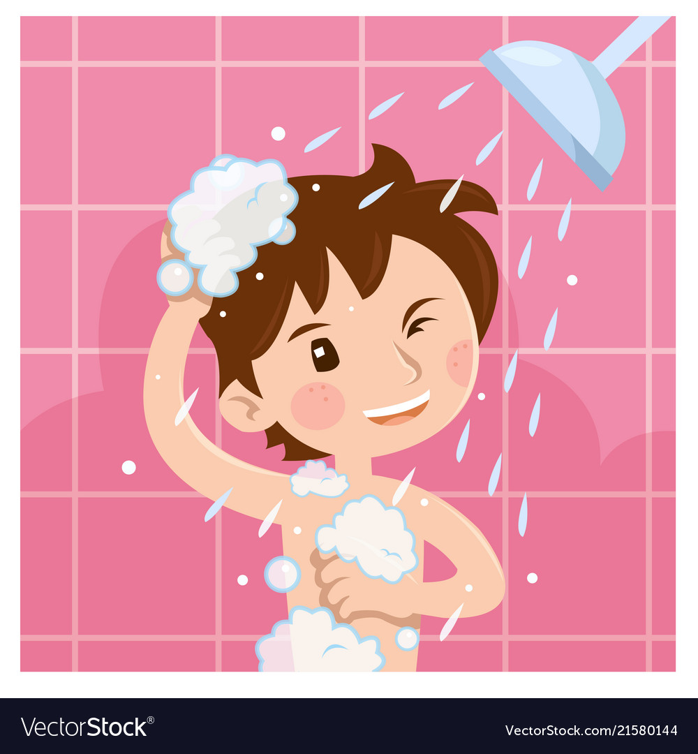 Kids take a shower clipart 2 » Clipart Station |Take A Shower Clipart