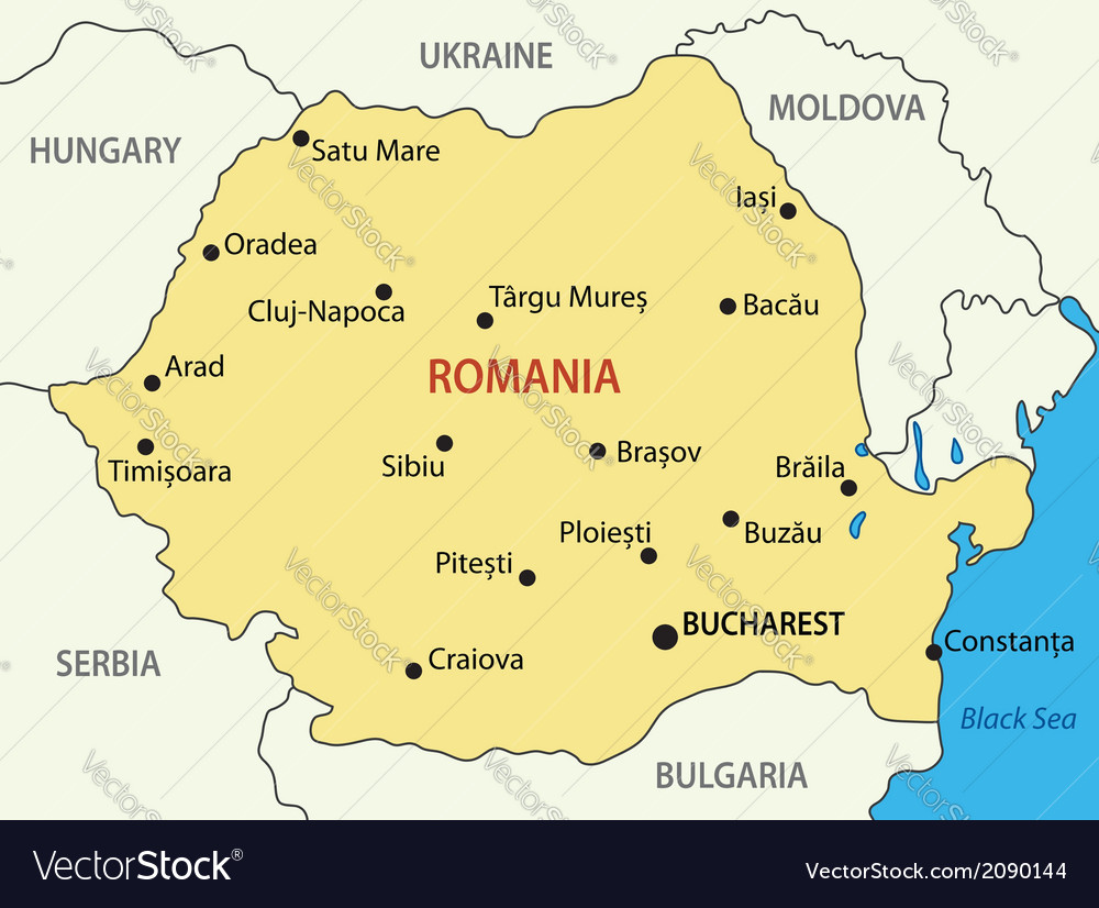 Romania On The Map | Map cosmictheater