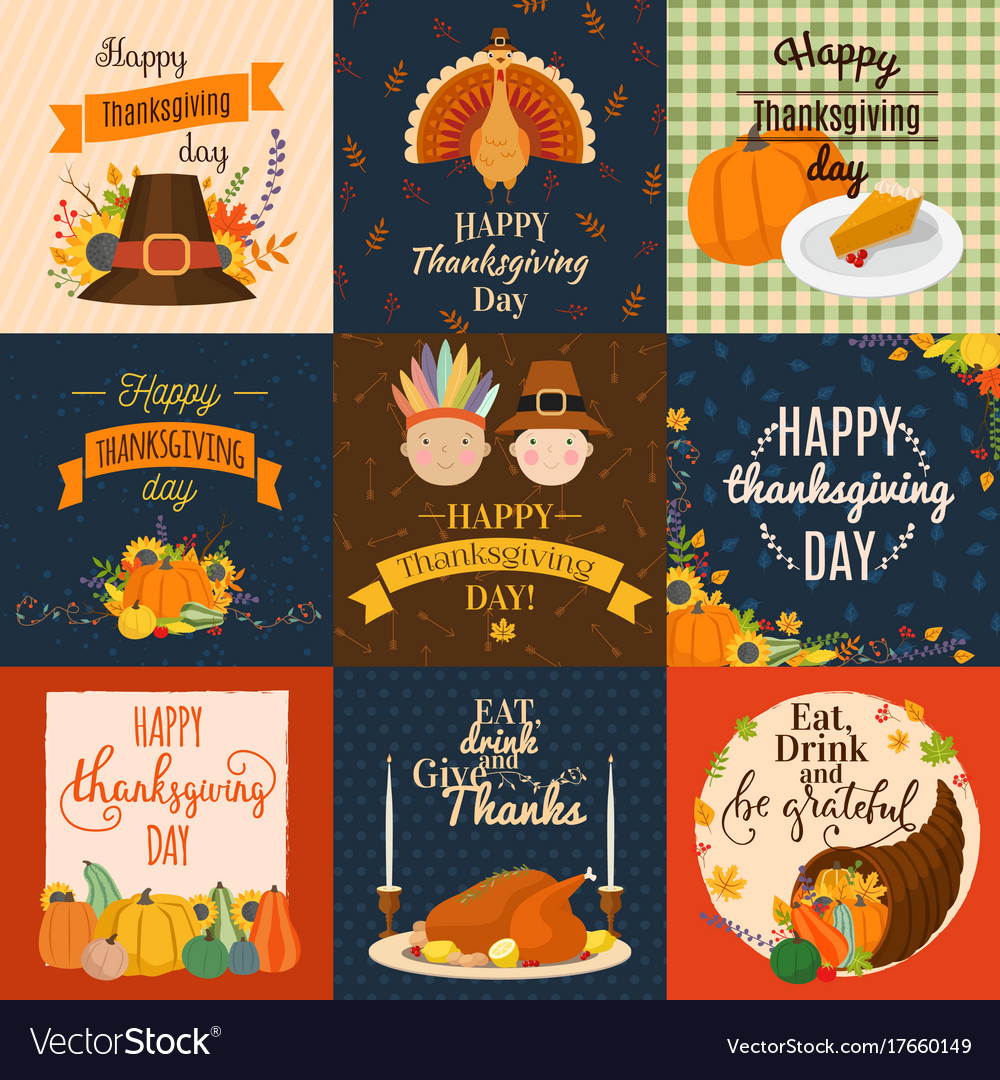Happy Thanksgiving Decoration Lettering