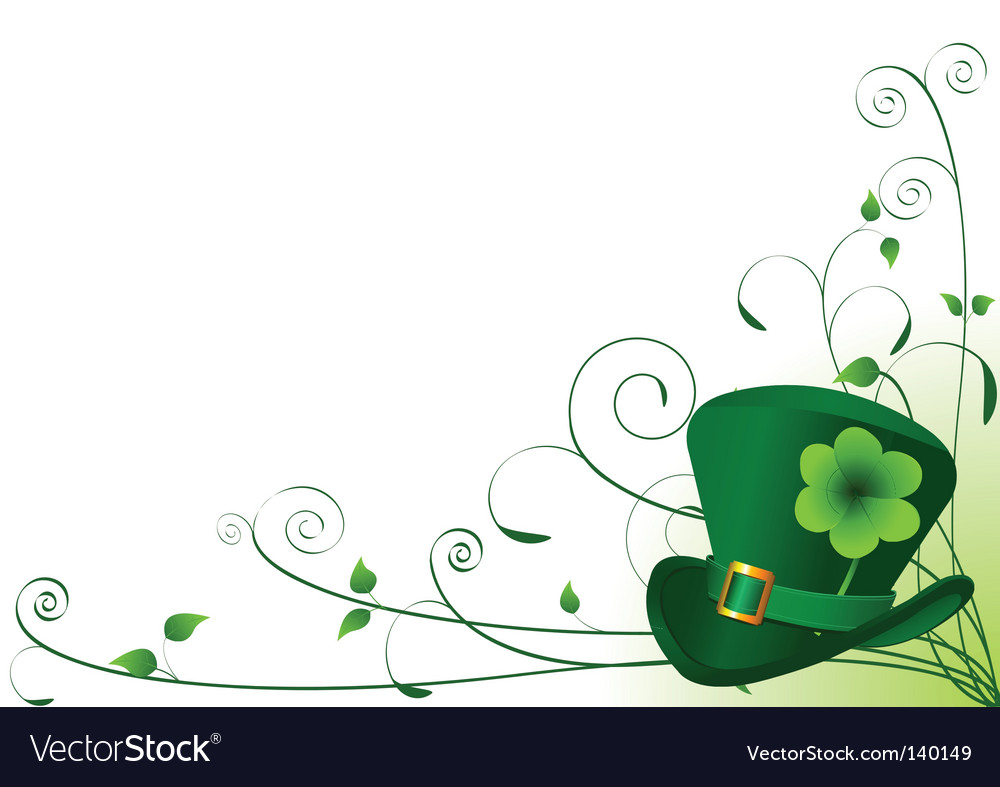 St Patrick Background Images: St Patrick's Day Background Royalty Free Vector Image