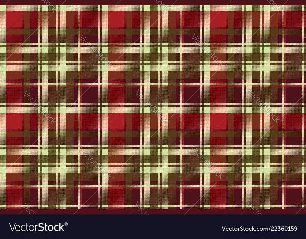 British classic check plaid seamless pattern