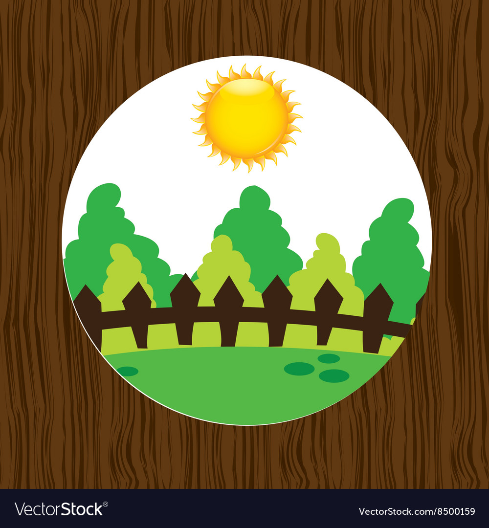 Forest trees design